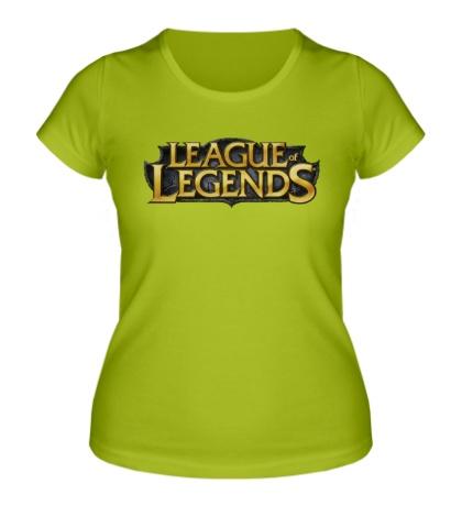 Женская футболка League of Legends