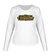 Женский лонгслив League of Legends