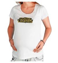 Футболка для беременной League of Legends