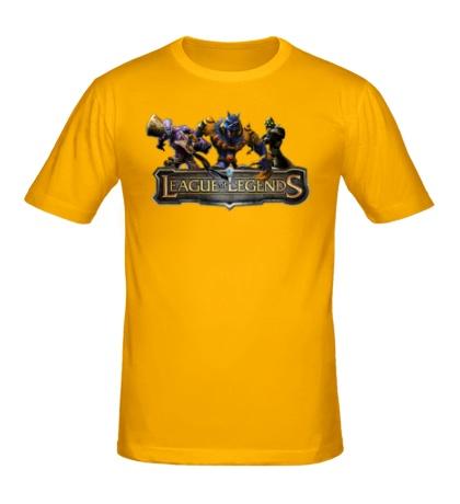Мужская футболка League of Legends Trio