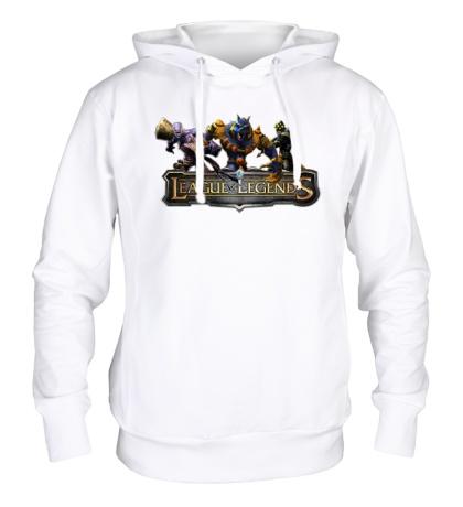 Толстовка с капюшоном League of Legends Trio