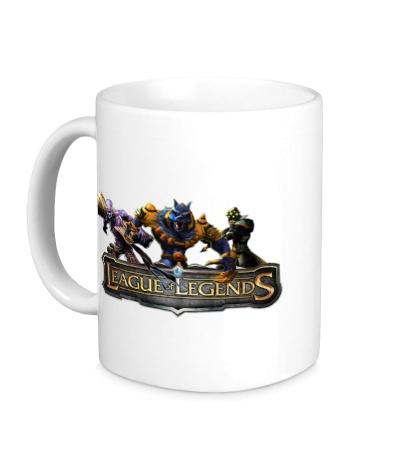 Керамическая кружка League of Legends Trio