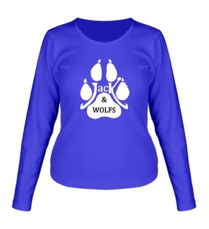 Женский лонгслив JACK & WOLFs