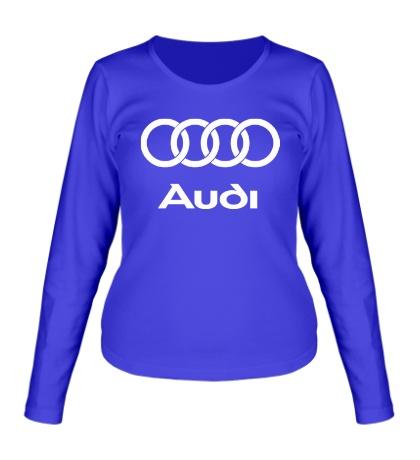 Женский лонгслив Audi