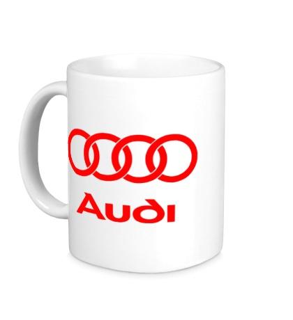 Керамическая кружка Audi