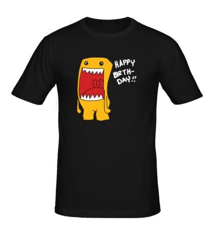 Мужская футболка Happy Birthday