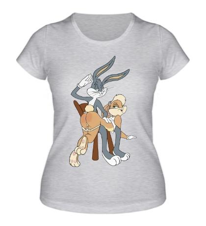 Женская футболка Багз Банни и Лола