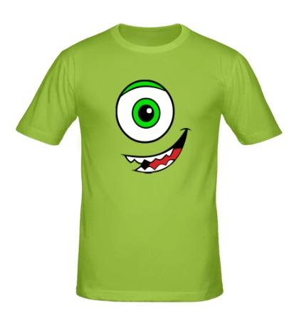 Мужская футболка Майк Вазовский, смайл