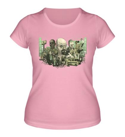 Женская футболка Breaking Bad: Meth Stories