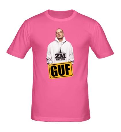 Мужская футболка Гуф в толстовке
