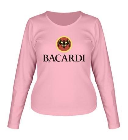 Женский лонгслив Bacardi