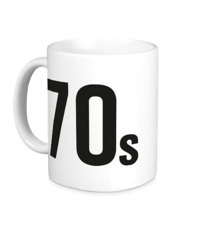Керамическая кружка Old School 70s