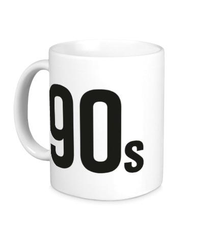 Керамическая кружка Old School 90s