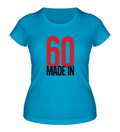 Женская футболка Made in 60s