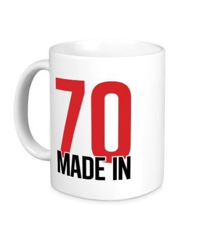 Керамическая кружка Made in 70s