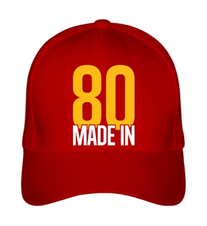 Бейсболка Made in 80s