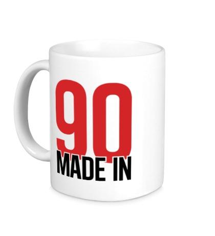 Керамическая кружка Made in 90s