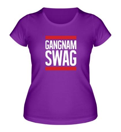 Женская футболка Gangnam Swag