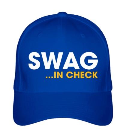 Бейсболка Swag in Check