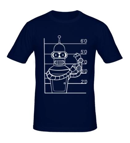 Мужская футболка Схема Бендера