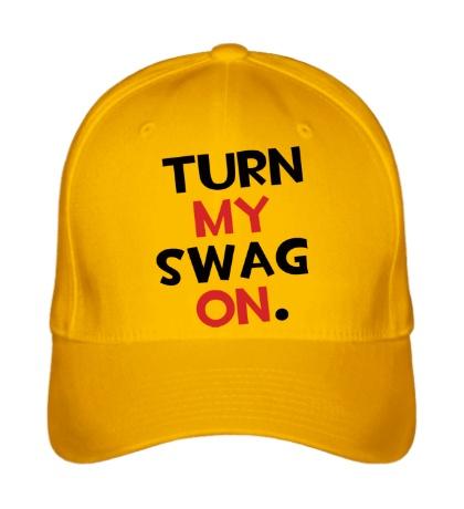 Бейсболка Turn my Swag on