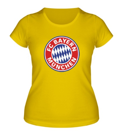 Женская футболка «ФК Бавария Мюнхен»