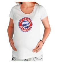 Футболка для беременной ФК Бавария Мюнхен