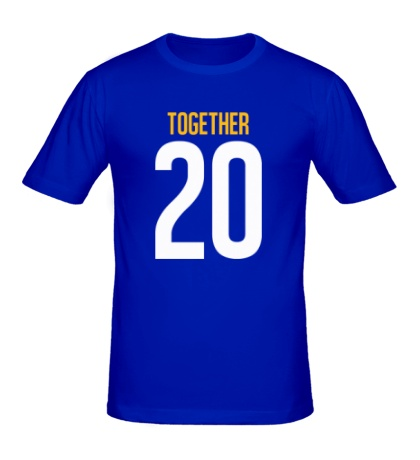 Мужская футболка Together since 20XX
