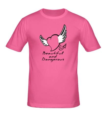 Мужская футболка Beautiful and Dangerous
