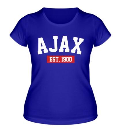 Женская футболка FC Ajax Est. 1900