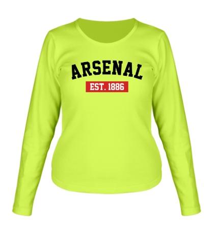 Женский лонгслив FC Arsenal Est. 1886