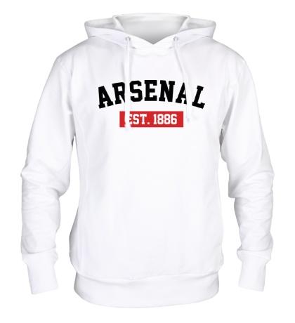 Толстовка с капюшоном FC Arsenal Est. 1886