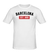 Мужская футболка FC Barcelona Est. 1899