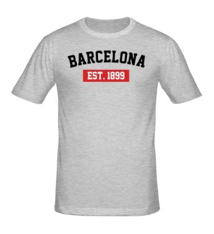 Мужская футболка «FC Barcelona Est. 1899»