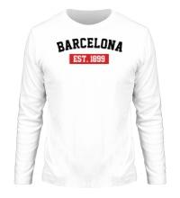Мужской лонгслив FC Barcelona Est. 1899