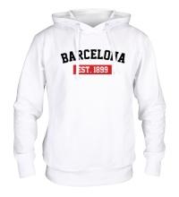 Толстовка с капюшоном FC Barcelona Est. 1899