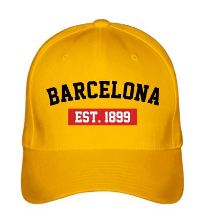 Бейсболка FC Barcelona Est. 1899