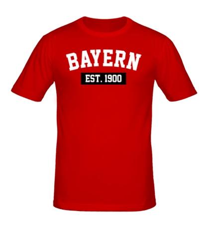 Мужская футболка FC Bayern Est. 1900