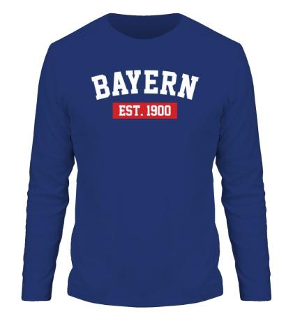 Мужской лонгслив FC Bayern Est. 1900