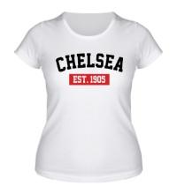 Женская футболка FC Chelsea Est. 1905