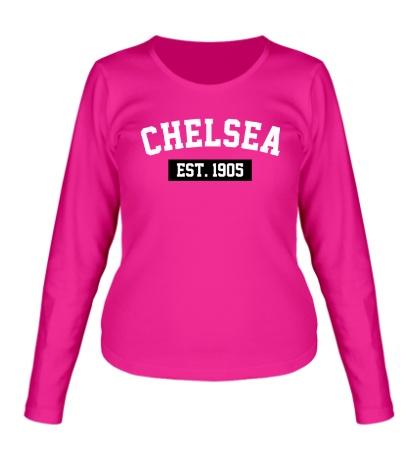 Женский лонгслив FC Chelsea Est. 1905