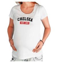 Футболка для беременной FC Chelsea Est. 1905