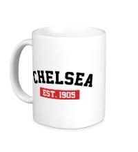 Керамическая кружка FC Chelsea Est. 1905