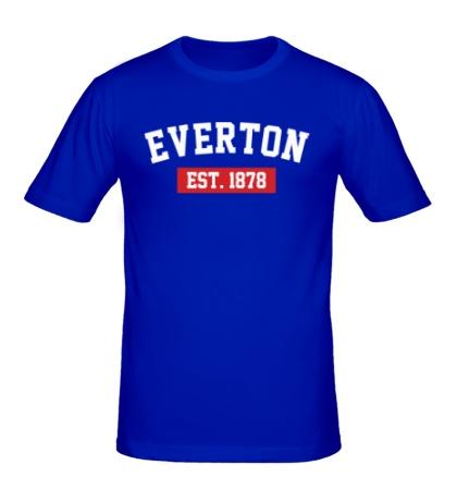 Мужская футболка FC Everton Est. 1878