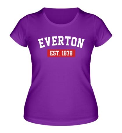 Женская футболка FC Everton Est. 1878