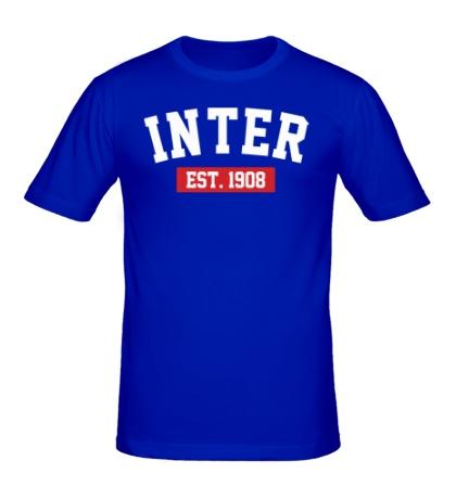 Мужская футболка FC Inter Est. 1908