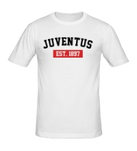Мужская футболка FC Juventus Est. 1897