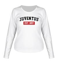 Женский лонгслив FC Juventus Est. 1897