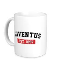 Керамическая кружка FC Juventus Est. 1897
