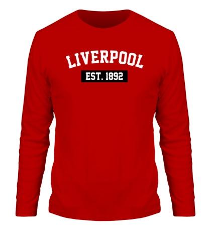 Мужской лонгслив FC Liverpool Est. 1892